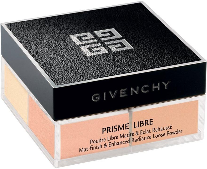 Sypký prášok - Givenchy Prisme Libre Mat-finish & Enhanced Radiance Loose Powder