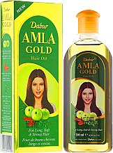"""Voňavky, Parfémy, kozmetika Olej na vlasy """"Zlatý"""" - Dabur Amla Gold Hair Oil"""