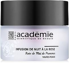 """Nočný obnovujúci krém s ružovým extraktom """"Ružová infúzia"""" - Academie Night Infusion Rose Cream — Obrázky N2"""