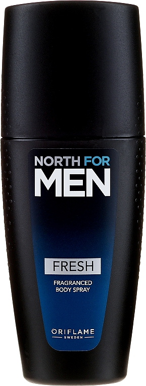 Parfumovaný sprej na telo - Oriflame North for Men Fresh Fragranced Body Spray