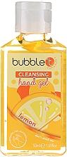 """Voňavky, Parfémy, kozmetika Antibakteriálny čistiaci gél na ruky """"Citrón"""" - Bubble T Cleansing Hand Gel"""