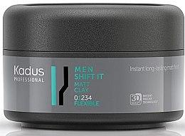 Voňavky, Parfémy, kozmetika Matná stylingová hlina na vlasy pre ľahkú fixáciu - Kadus Professional Men Shift It Matt Clay