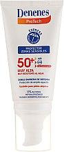 Voňavky, Parfémy, kozmetika Krém s SPF ochranou pre citlivú pleť - Denenes Sun Protective Cream SPF50+