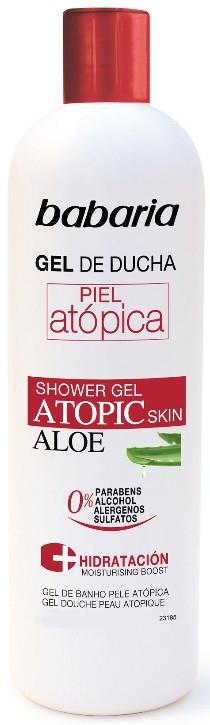 Sprchový gél s aloe vera - Babaria Atopic Shower Gel  — Obrázky N1