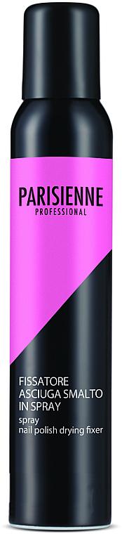 Sprej na fixáciu a rýchle sušenie laku - Parisienne Spray Nail Polish Drying Fixer