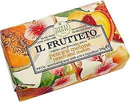 """Voňavky, Parfémy, kozmetika Mydlo """"Broskyňaa melón"""" - Nesti Dante Il Frutteto Soap"""