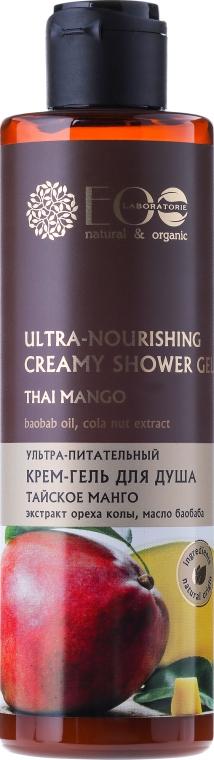 "Ultra výživný sprchový gél ""Thajské Mango"" - ECO Laboratorie"