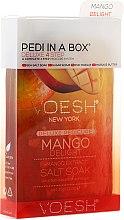 "Voňavky, Parfémy, kozmetika Sada na pedikúru ""Mango"" - Voesh Pedi In A Box Deluxe 4 Step Pedicure Mango Delight"