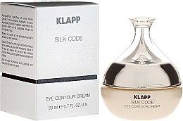 Voňavky, Parfémy, kozmetika Krém na zrelú pleť - Klapp Silk Code Eye Contour Cream