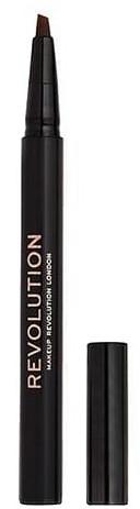 Fixka na obočie - Makeup Revolution Bushy Brow Pen — Obrázky N1