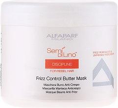 Voňavky, Parfémy, kozmetika Maska na nepoddajné vlasy - Alfaparf Semi di Lino Discipline Frizz Mask