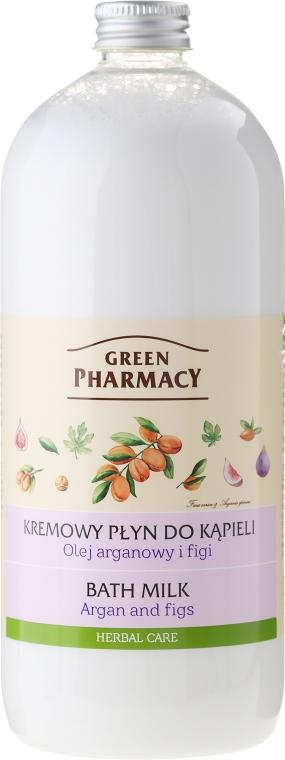"""Kúpeľové mlieko """"Argano a figy"""" - Green Pharmacy"""