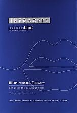Voňavky, Parfémy, kozmetika Hydrogélová maska na pery - Infracyte Luscious Lips Anti-Aging Lip Treatment