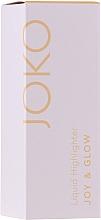 Voňavky, Parfémy, kozmetika Tekutý rozjasňovač - Joko Joy & Glow Liquid Highlighter