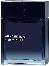 Voňavky, Parfémy, kozmetika Armand Basi Night Blue - Toaletná voda (tester s vrchnákom)