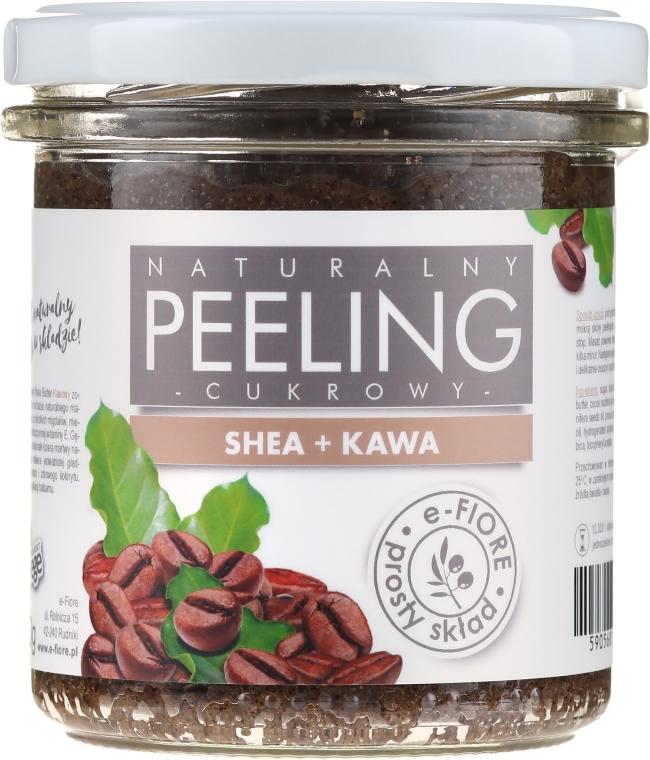 Kávový peeling na telo - E-Fiore Coffee Body Peeling