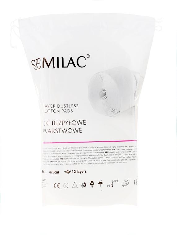 Celulózová vata - Semilac Dust-Free Cotton Wipes