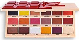 Paleta očných tieňov - I Heart Revolution Eyeshadow Chocolate Palette Cinnamon — Obrázky N2