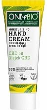 Voňavky, Parfémy, kozmetika Hydratačný krém na ruky - Only Bio Only Eco CBD Oil