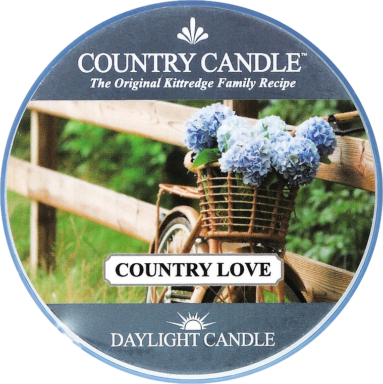 Čajová sviečka - Country Candle Country Love — Obrázky N1