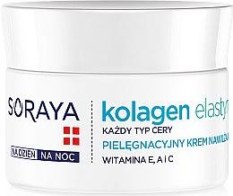 Voňavky, Parfémy, kozmetika Hydratačný krém na tvár - Soraya Kolagen i Elastyna Moisturizing Cream