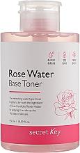 Voňavky, Parfémy, kozmetika Toner na báze ružovej vody - Secret Key Rose Water Base Toner