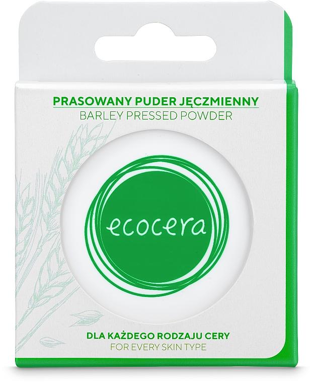 Lisovaný jačmeňový púder na tvár - Ecocera Barlay Pressed Powder — Obrázky N3