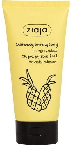 "Sprchový gél ""Ananás"" 2v1 - Ziaja Pineapple Shower Gel 2in1"