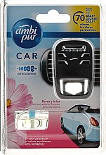 Voňavky, Parfémy, kozmetika Sada na aromatizáciu auta - Ambi Pur Car Air Freshener For Her (freshener/1szt+refill/7ml)