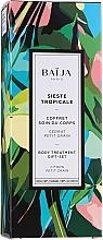 Voňavky, Parfémy, kozmetika Sada - Baija Sieste Tropicale (sh/gel/100ml + b/cr/75ml + b/scr/60ml)