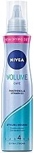 "Voňavky, Parfémy, kozmetika Mušt na vlasy ""Efektný objem"" s ochranou keratínu - Nivea Hair Care Volume Sensation Styling Mousse"