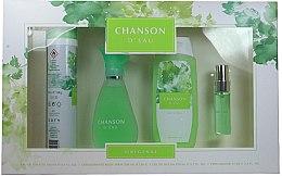 Voňavky, Parfémy, kozmetika Coty Chanson d'Eau - Sada (edt/100ml + sh/gel/200ml + deo/200ml + edt/15ml)