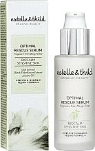 Voňavky, Parfémy, kozmetika Sérum na tvár - Estelle & Thild BioCalm Optimal Rescue Serum