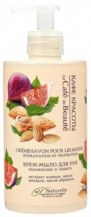 "Krém-mydlo na ruky ""Hydratácia a ochrana"" - Le Cafe de Beaute Cream Hand Soap Hydration And Protection"