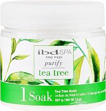 Voňavky, Parfémy, kozmetika Čistiaca soľ do kúpeľa rúk a nôh s extraktom čajovníka - IBD Tea Tree Purify Pedi Spa Soak