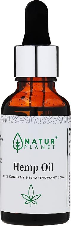 Konopný olej, nerafinovaný - Natur Planet Hemp Oil