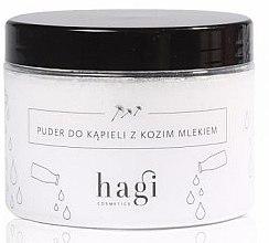 Voňavky, Parfémy, kozmetika Púder pre kúpeľ s kozím mliekom - Hagi Bath Puder