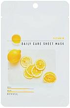Voňavky, Parfémy, kozmetika Revitalizačná maska na tvár s vitamínom B5 - Eunyu Daily Care Sheet Mask Vitamin