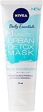 """Termo-maska """"Zúženie pórov"""" - Nivea Daily Essentials 1 Minute Urban Detox Mask — Obrázky N1"""