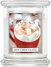 Voňavky, Parfémy, kozmetika Vonná sviečka v pohári - Kringle Candle Hot Chocolate