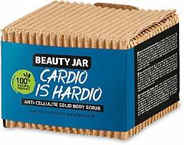 Voňavky, Parfémy, kozmetika Tuhýanticelulitídny scrub na telo - Beauty Jar Cardio Is Hardio Anti-Cellulite Solid Body Scrub