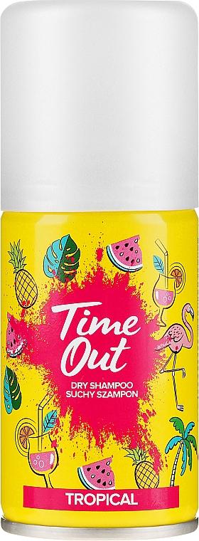 Suchý šampón na vlasy - Time Out Dry Shampoo Tropical