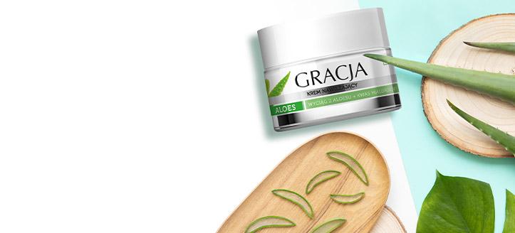 Získaj hydratačný krém ako darček pri nákupe výrobkov Gracja v hodnote vyše 8 €