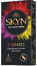 Voňavky, Parfémy, kozmetika Kondómy, 5 ks - Unimil Skyn 5 Senses