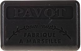 "Voňavky, Parfémy, kozmetika Marselské mydlo ""Mak"" - Foufour Savonnette Marseillaise Pavot"