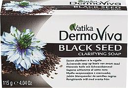 Voňavky, Parfémy, kozmetika Protizápalové mydlo s čiernym rascom - Dabur Vatika Black Seed Soap