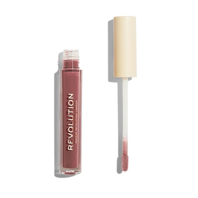Tekutý rúž na pery - Makeup Revolution Nudes Collection Gloss — Obrázky N2