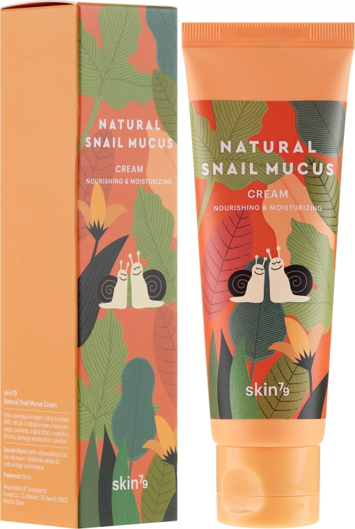 Krém na tvár so slimákovým slizom - Skin79 Natural Snail Mucus Cream