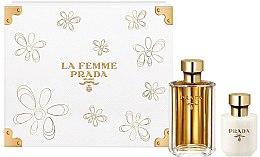 Voňavky, Parfémy, kozmetika Prada La Femme Prada - Sada (edp/100ml + b/lot/100ml)