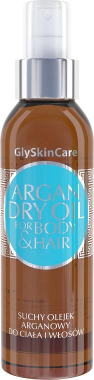 Suchý arganový olej na telo a vlasy - GlySkinCare Argan Dry Oil For Body & Hair
